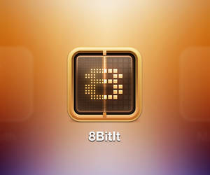 8BitIt iOS Icon by evasketch