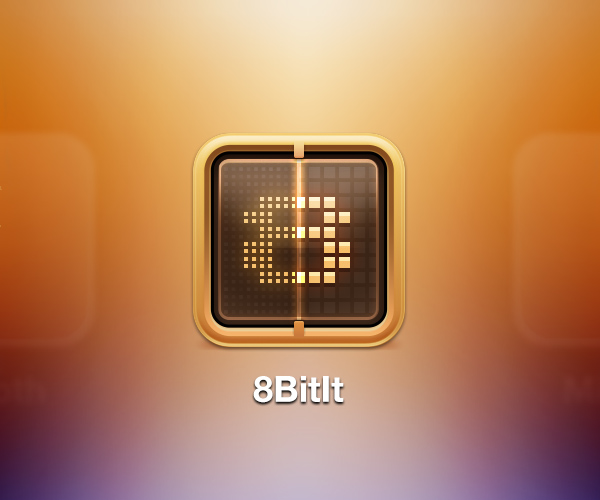 8BitIt iOS Icon by Flahorn