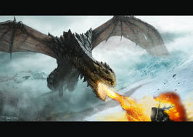 Black Dragon by Meewtoo