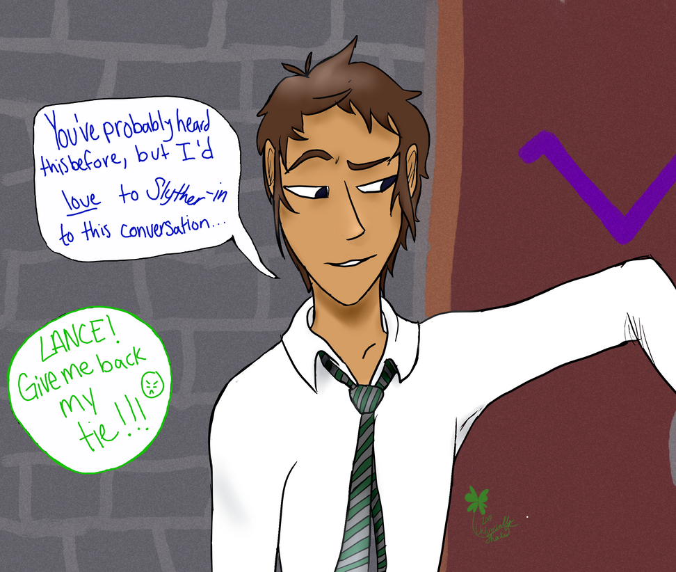 Lance has Bad Pickup Lines by Seraph13l on DeviantArt