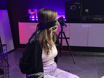 Pokimane Blindfolded and Cleave Gagged by Sergio245