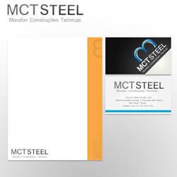 Membretado y Tarjeta CMT Steel