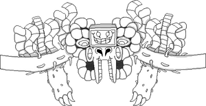 OFF Styled Omega Flowey sprite