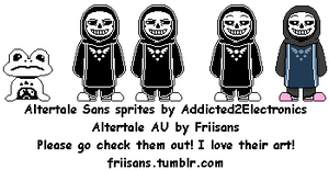 Altertale Sans sprites
