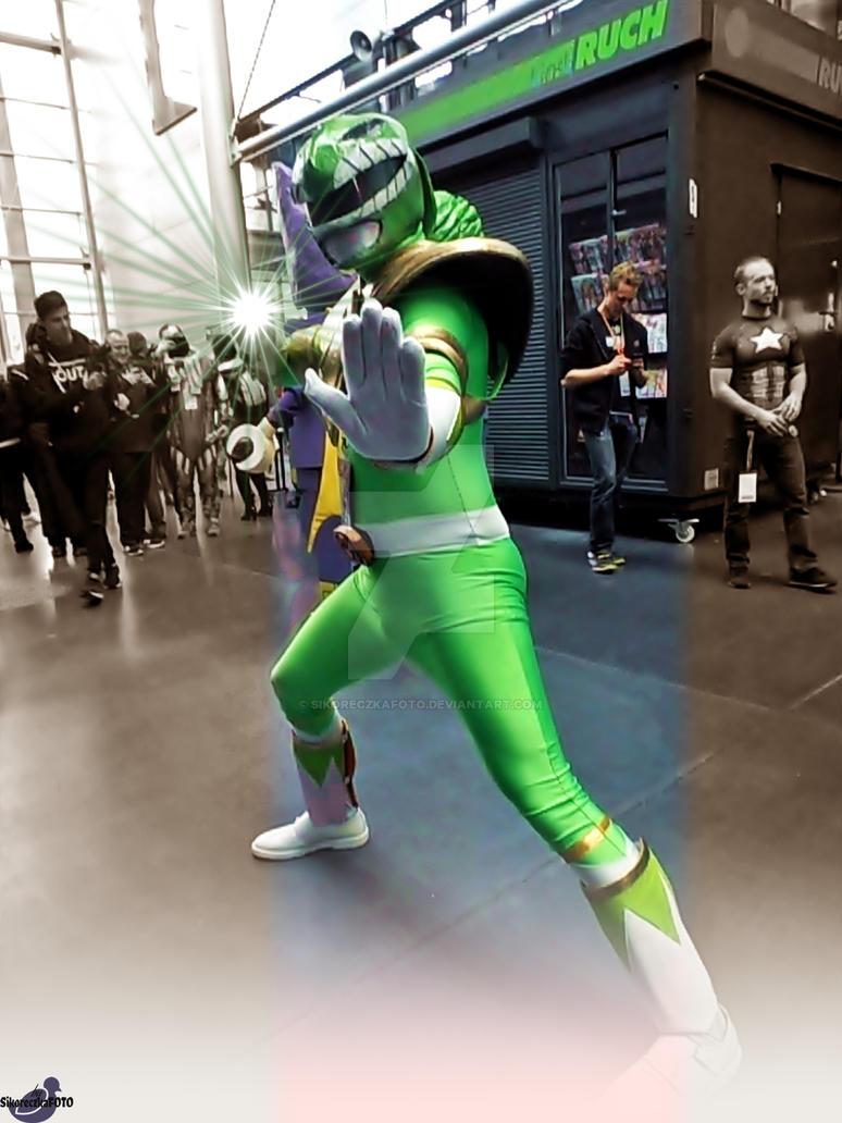 Power Rangers Green by SikoreczkaFoto