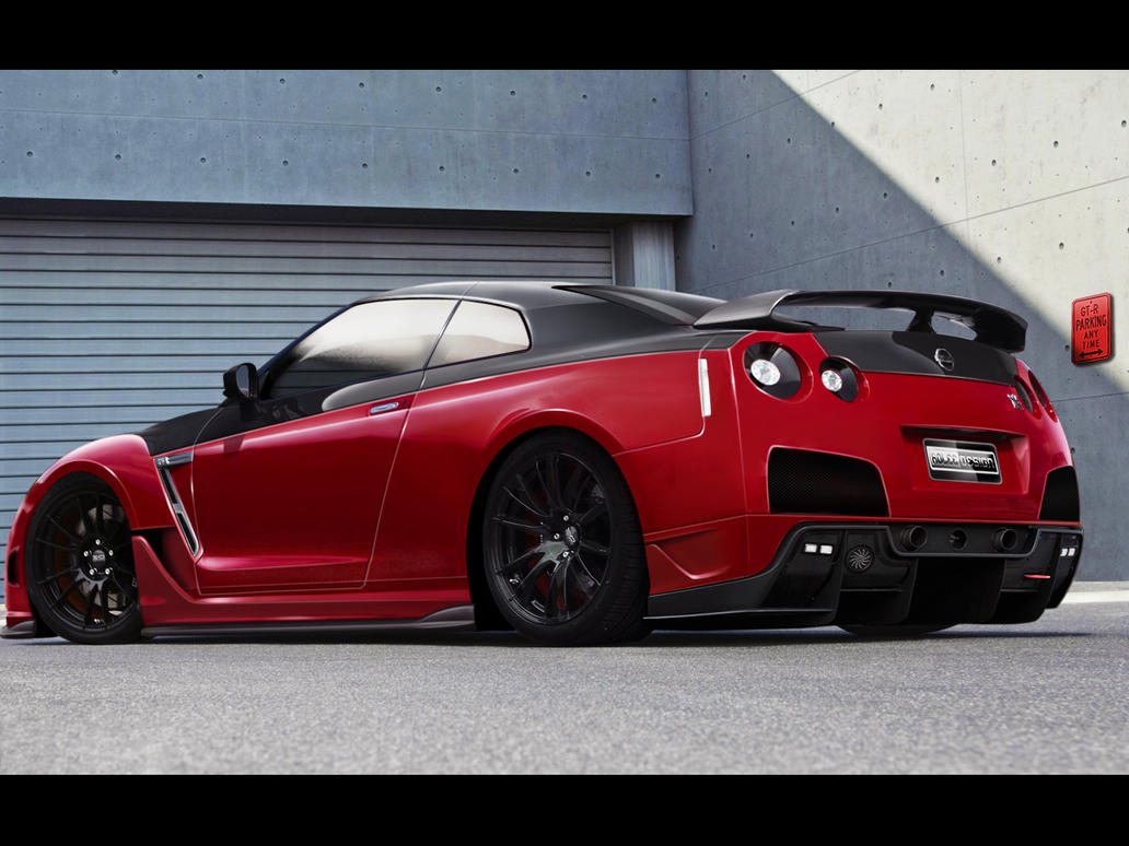 Nissan GT-R by roleedesign