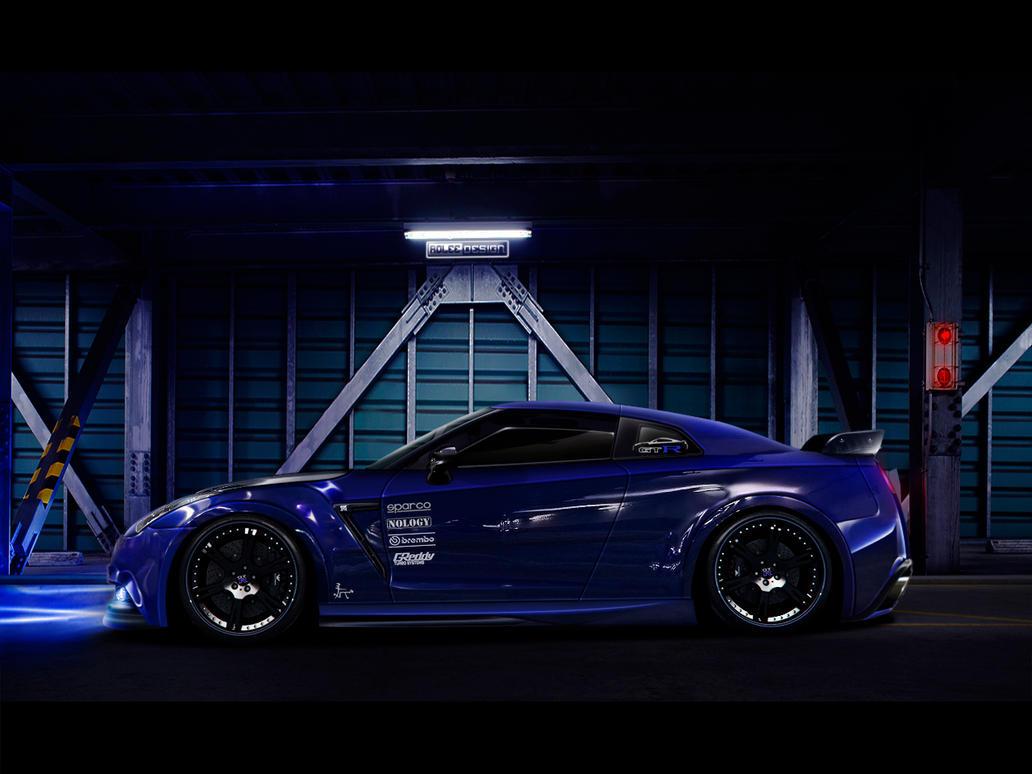 Nissan GTR by roleedesign