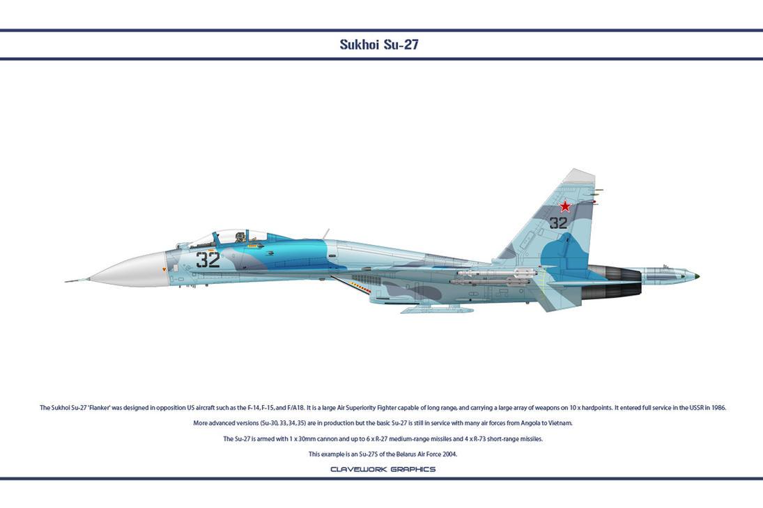 Su-27 Belarus 1 by WS-Clave