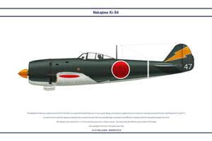 Ki-84 11th sentai by WS-Clave