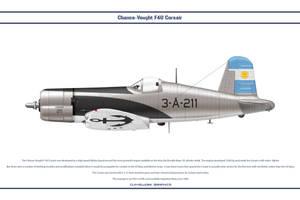 F4U-5 Argentina 2a Esc 1 by WS-Clave