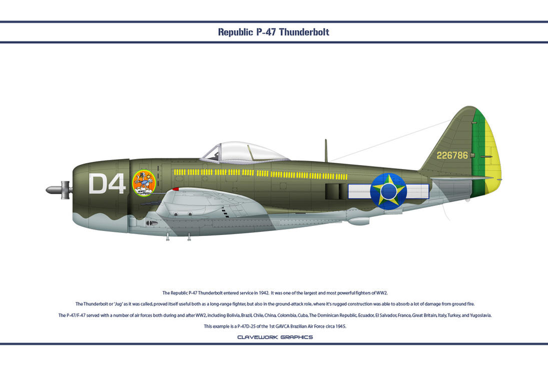 P-47 Brazil 1 by WS-Clave