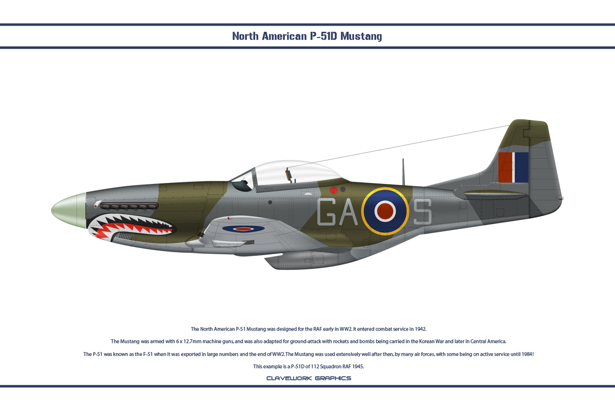 Mustang GB 112 Sqn 2 by WS-Clave