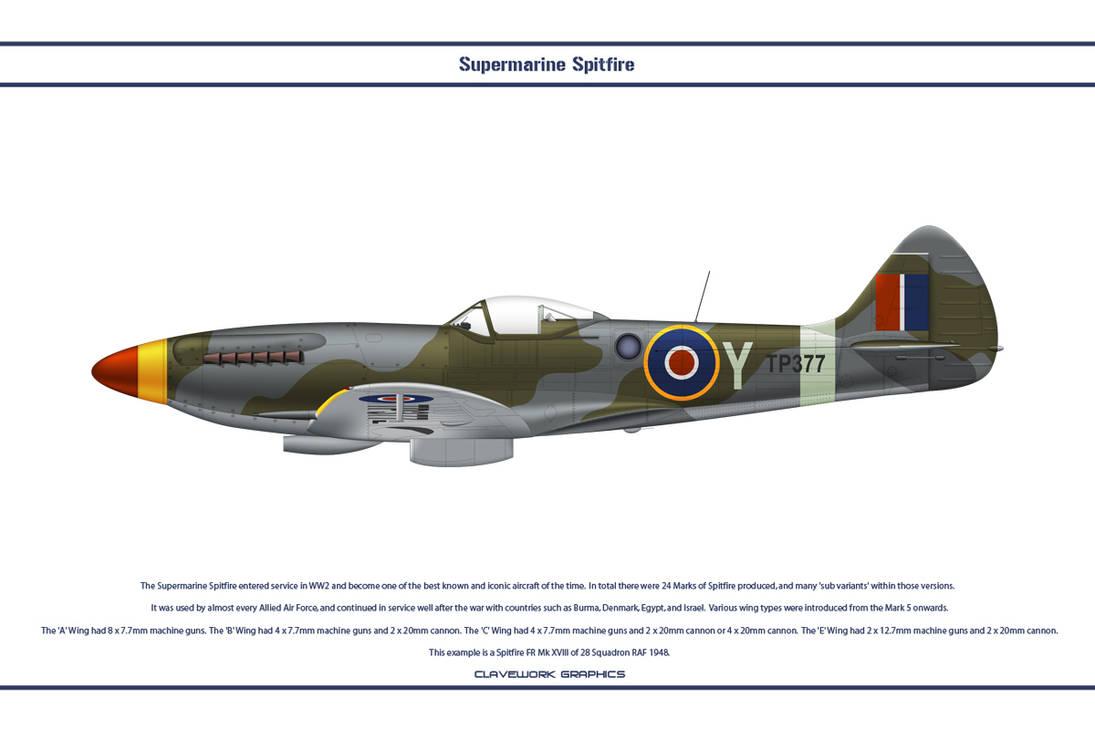 Spitfire Mk XVIII GB 28 Sqn by WS-Clave on DeviantArt