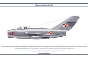 MiG-15 Poland 1 by WS-Clave