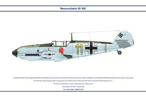 Bf 109 E-3 JG26 2 by WS-Clave