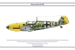 Bf 109 E-3 JG51 2 by WS-Clave