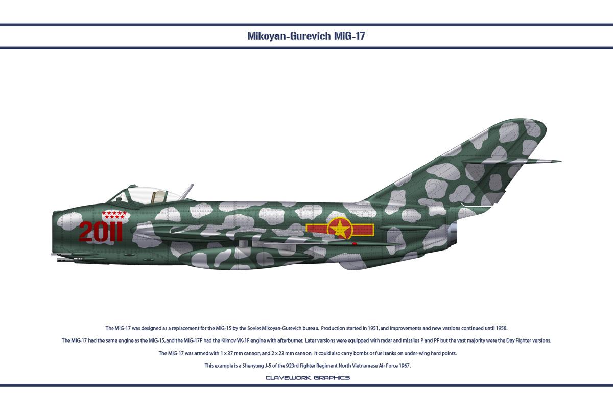 MiG-17 North Vietnam 4 by WS-Clave