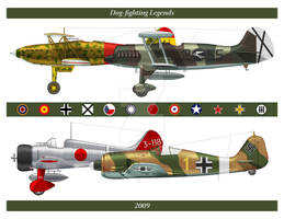 Dogfighting Legends Calendar by Claveworks