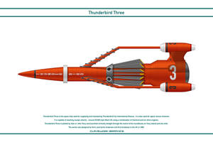 Thunderbird Three by WS-Clave