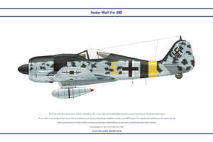 Fw190A9 JG5 1 by WS-Clave