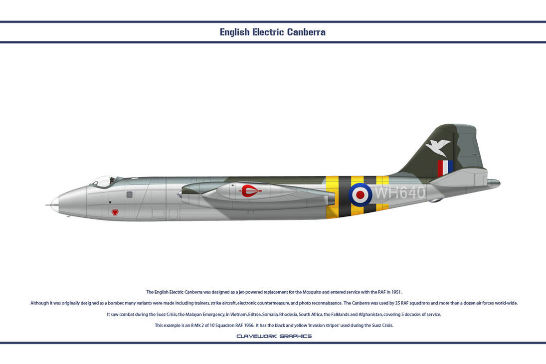 Canberra B Mk 2 10 Sqn 1 by WS-Clave