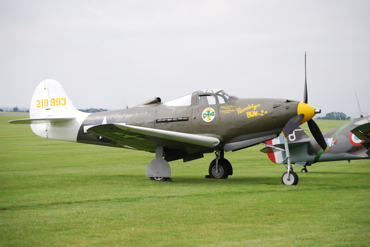 Duxford Airacobra by WS-Clave