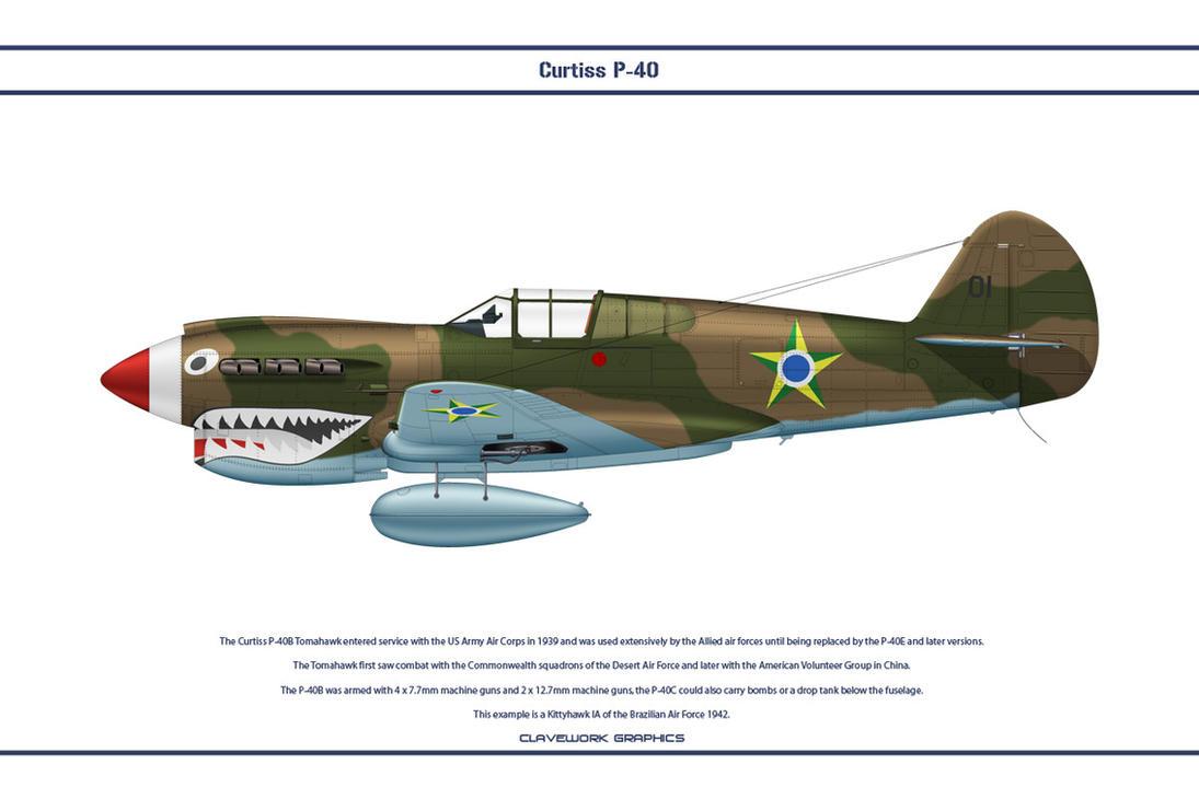 P-40E Brazil 1 by WS-Clave