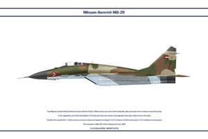 MiG-29 Sudan 1 by WS-Clave