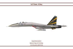 Fantasy 05 Su-27 USN VF124 by WS-Clave