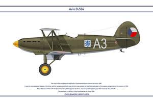 Avia B-534 Czechoslovakia 2 by WS-Clave