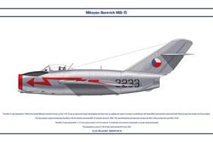 MiG-15 Czechoslovakia 3 by WS-Clave