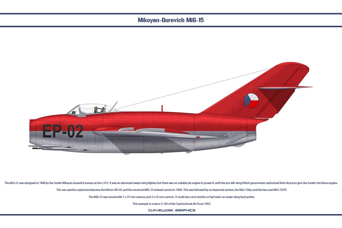 MiG-15 Czechoslovakia 4 by WS-Clave