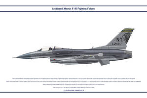 F-16 New York ANG 1 by Claveworks