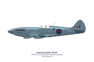 Spitfire Mk XIX 541 Squadron 2 by WS-Clave