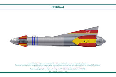 Fireball XL5 by WS-Clave