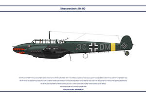 Bf 110 C NJG3 1 by WS-Clave
