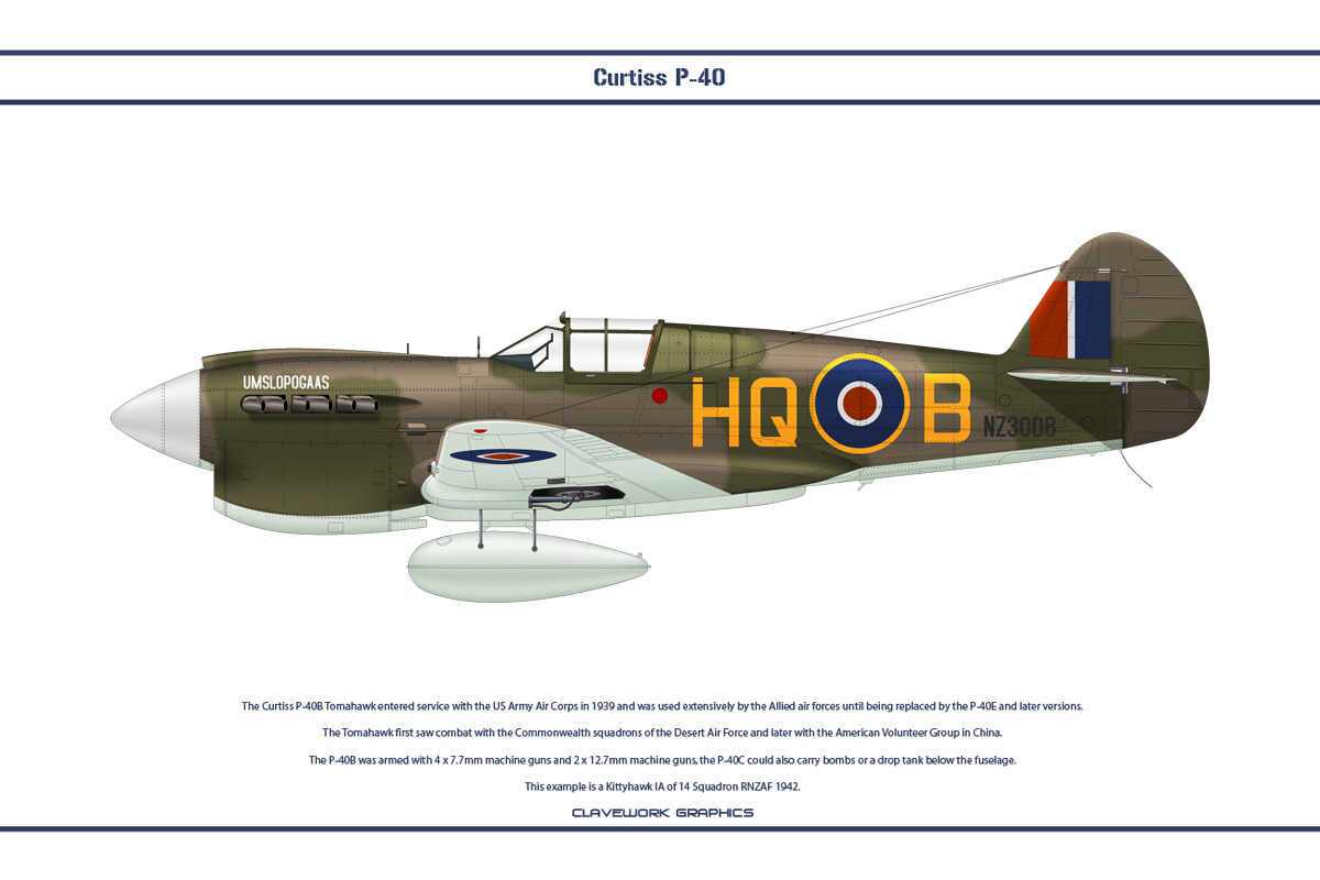P-40E New Zealand 1 by WS-Clave
