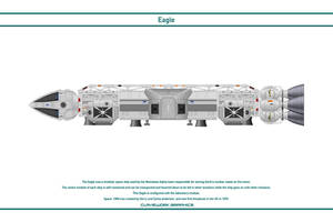 Space 1999 - Eagle 4 by WS-Clave