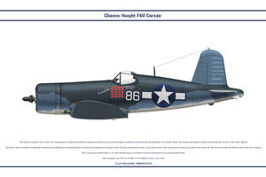 F4U-1A USA VMF-214 2 by WS-Clave