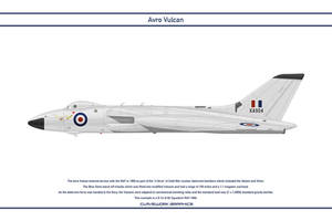 Vulcan GB 83 Squadron 1 by WS-Clave