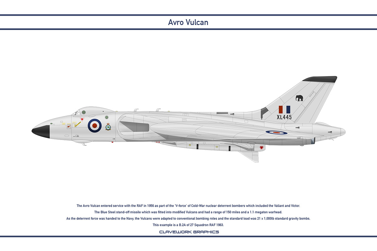 Vulcan GB 27 Squadron 1 by WS-Clave
