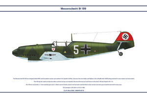 Bf 109 D-1 JG132 by WS-Clave
