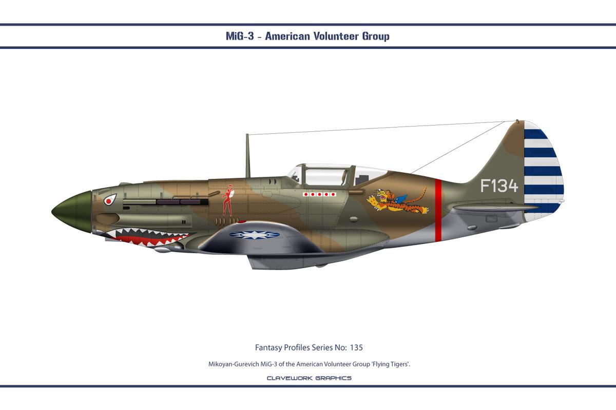 Fantasy 135 MiG-3 AVG by WS-Clave