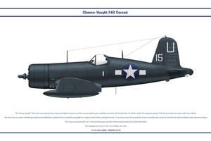 F4U-1D USA VF-101 by WS-Clave