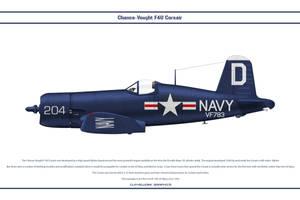 F4U-4 USA VF-783 by WS-Clave