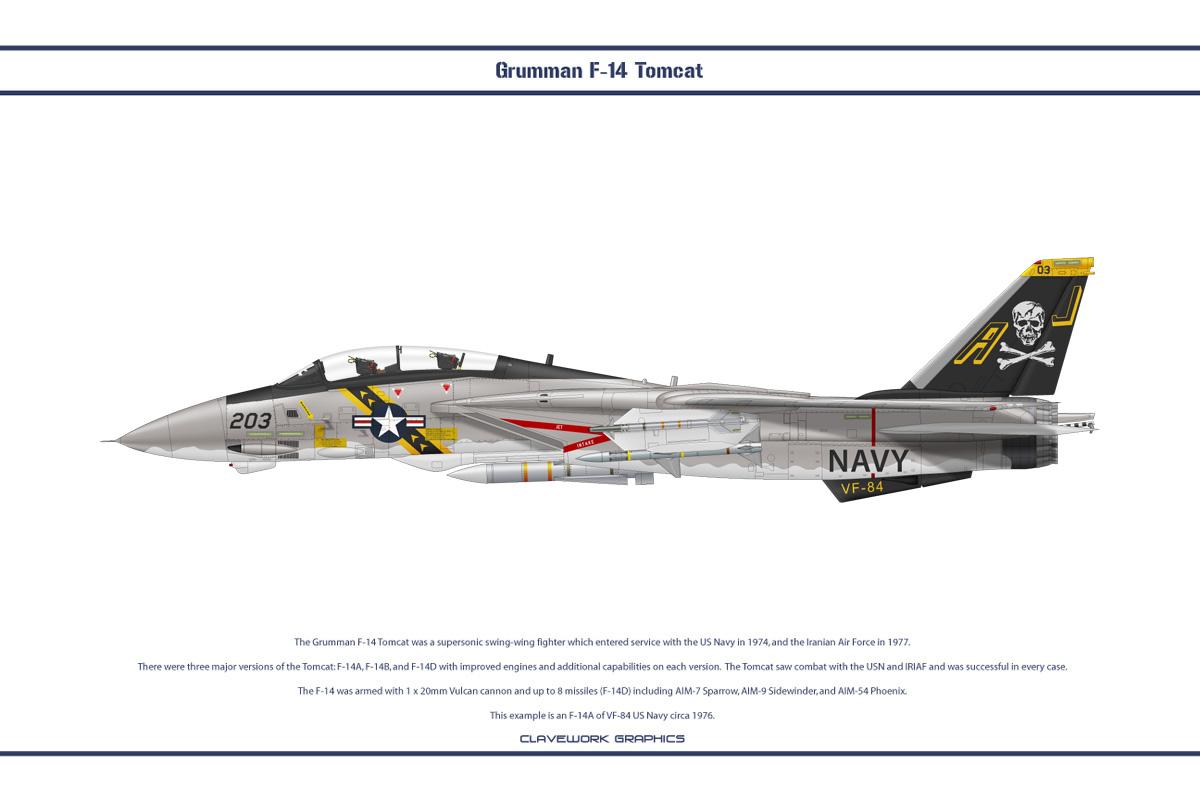 F-14A VF-84 1
