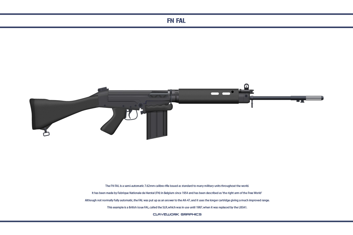 FN FAL 2 by WS-Clave