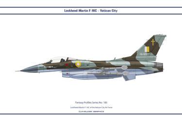 Fantasy 185 F-16C Vatican by WS-Clave
