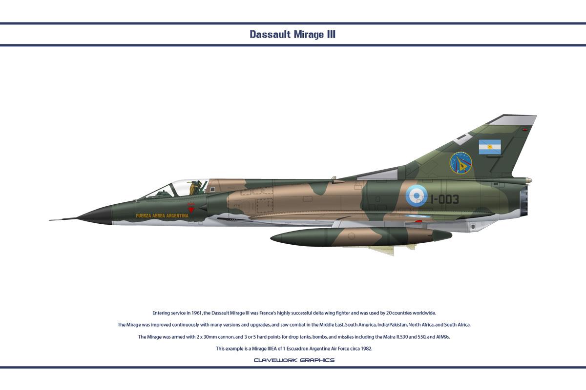 Mirage Iii Argentina 2 By Ws Clave On Deviantart