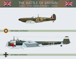 Battle of Britain Calendar by Claveworks